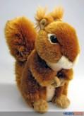Plüsch-Eichhörnchen - braun