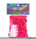 """Rainbow Loom - Gummibänder """"Pink"""""""