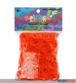 "Rainbow Loom - Gummibänder ""Orange"""