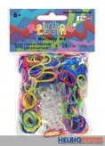 "Rainbow Loom - Gummibänder ""Jelly Mix"""