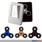 """Finger-Kreisel """"Super 360 Spinner - Chrome in Box"""" - 4-sort."""