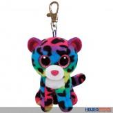 "Boo Clip/Anhänger - Leopard ""Dotty"" bunt - 8,5 cm"
