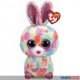 "Beanie Boo's - Hase multicolor ""Bloomy"" limitiert - 24 cm"