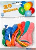 Luftballons rund - 20er Beutel