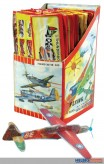 Styropor-Flieger - Styropor-Flugzeug - sort.