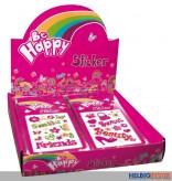 "Glitter-Sticker ""Be Happy"""